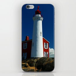 Fisgard Lighthouse iPhone Skin