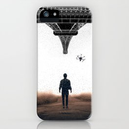 Bringing my drone to Paris by GEN Z iPhone Case