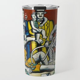 Man in the New Age by Fernand Leger Travel Mug