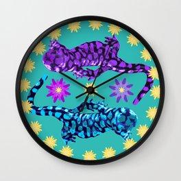 Dancing Salamanders Wall Clock