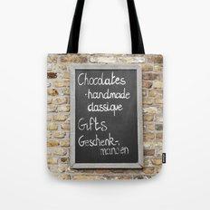 Belgium Chocolates Tote Bag