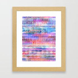 Ikat #8h Framed Art Print