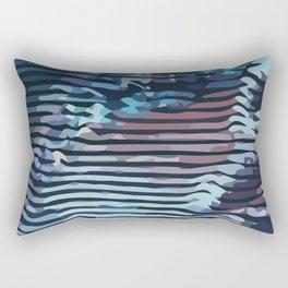 Wave #1 Rectangular Pillow
