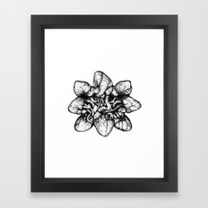 Bound: Hearts Framed Art Print