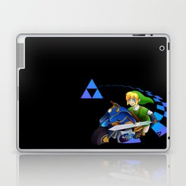 Mario Kart 8 - Link on the Mastercycle Laptop & iPad Skin