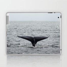 A whale salute Laptop & iPad Skin
