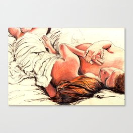 Origin of Love #7  Canvas Print