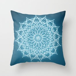 Zen Mandala (Serenity) Throw Pillow