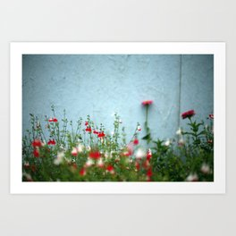 Bloemen. Florence. Art Print