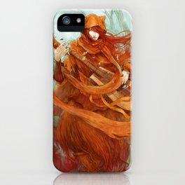 wandering minstrel iPhone Case