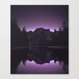 night reflection Canvas Print
