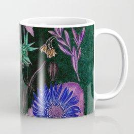Botanical Study #3, Vintage Botanical Illustration Collage Art Coffee Mug