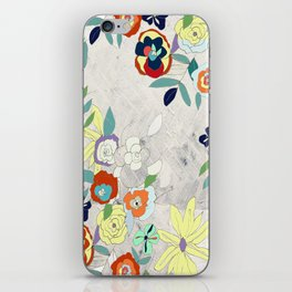 Saturday Florals iPhone Skin