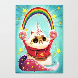 Donut Power! Canvas Print