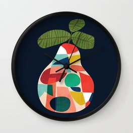 Fresh Pear Wall Clock