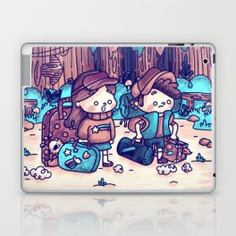The beginning of the mystery Laptop & iPad Skin