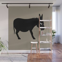 Angry Animals: Bad Ass Donkey Wall Mural