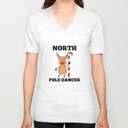 North Pole Dancer Unisex V-Neck