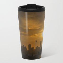 Sunset in Sydney (Australia) Travel Mug