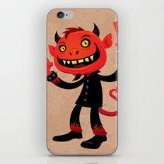 Heavy Metal Devil iPhone & iPod Skin