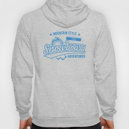 Mountain Style Above the Clouds XTREME Snowboard Adventures wb Hoody