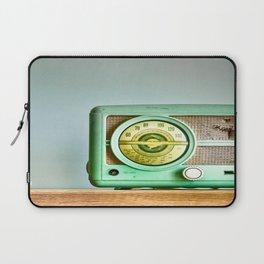 Turn Up The Radio Laptop Sleeve