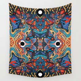 Polyp (Psychedelic Undersea) Wall Tapestry