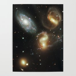 Galactic wreckage Poster