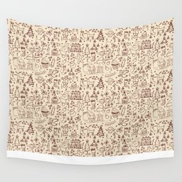 Christmas Collection Wall Tapestry