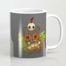 Tiki Mask Coffee Mug