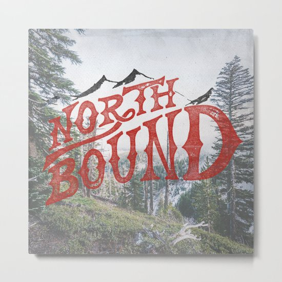 North Bound  Metal Print