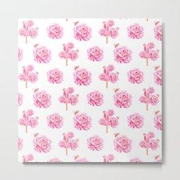 Rose Pop Metal Print