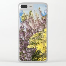 Interference #1 Clear iPhone Case