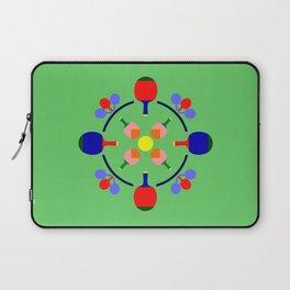 Table Tennis Design Laptop Sleeve