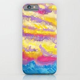 The Golden Cloudscape iPhone Case
