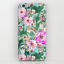 WANDERLUSH Colorful Floral iPhone Skin