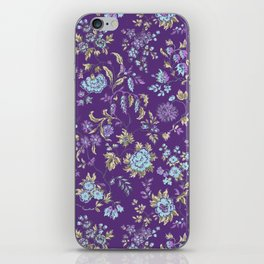 plum liberty iPhone Skin