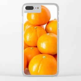 Oranges 2 Clear iPhone Case