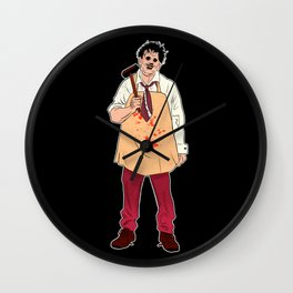 Leatherface - The Texas Chain Saw Massacre Wall Clock
