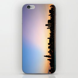 Chicago Skyline Silhouette iPhone Skin