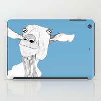 goat iPad Cases featuring Goat by caseysplace