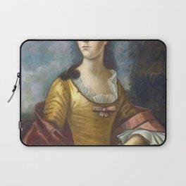 Benjamin West - Mary Bethel Boude (Mrs Samuel Boude) Laptop Sleeve