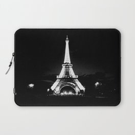 Paris Black & White Laptop Sleeve
