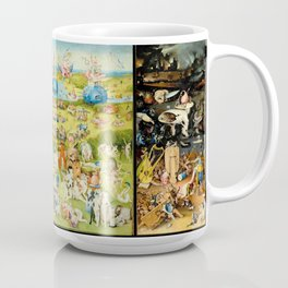 The Garden of Earthly Delights by Bosch Coffee Mug