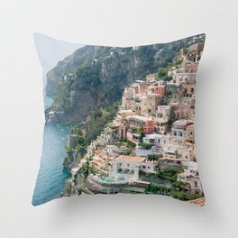 Italy. Amalfi Coastline Throw Pillow