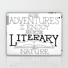 Literary Adventures Laptop & iPad Skin