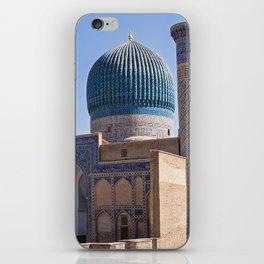 Timur mausoleum - Samarkand iPhone Skin