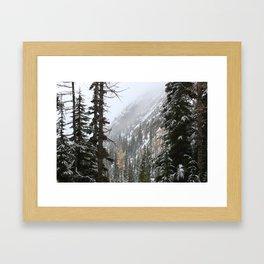 Autumn Mountains Framed Art Print