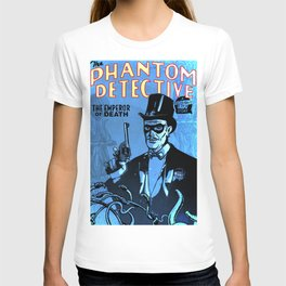 PHANTOM DETECTIVE- MIDNIGHT CITY - GMB CHOMICHUK T-shirt