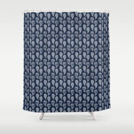 Ghosts Ascending Shower Curtain